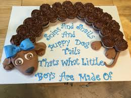 baby boy baby shower pull apart cupcake cake puppy cakes i have