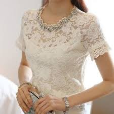 white lace blouses bead embellished sleeve lace blouse white the thing things