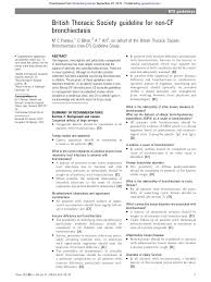 Electricians Resume Guideline For Non Cf Bronchiectasis