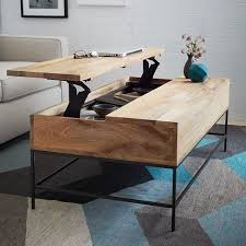 Pop Up Coffee Table Industrial Storage Coffee Table West Elm Pop Up Coffee Table 523