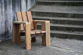 Diy Wooden Outdoor Chairs by 2 4 Chair Modern Furniture From Common Lumber By Sander Viegers