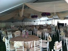 wedding tablecloth rentals wedding tent rentals in oakland county mi