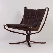 vintage scandinavian falcon chair by sigurd ressell for vatne