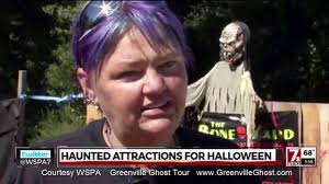 wspa mentions greenville ghost tour halloween 2016 youtube