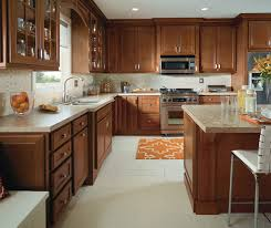 Traditional Kitchen With Cherry Cabinets Homecrest - Kitchen with cherry cabinets