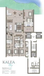 L Tower Floor Plans Residence Kalea Bay Luxury Waterfront Condominiums
