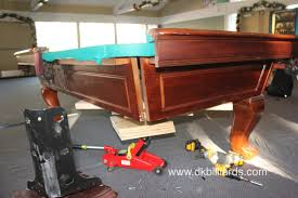 how not to move your pool table part 5 dk billiards u0026 service