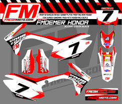 honda cdr bike fm oemer kit fresh moto