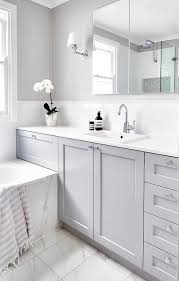 white bathrooms ideas 20 wonderful grey bathroom ideas with furniture to insipire you