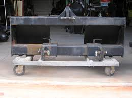 skid steer to 3 point adapter