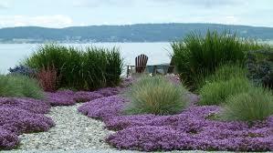 ornamental grass garden ideas landscape style with river