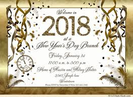 brunch invitations golden new years party invitations count clock