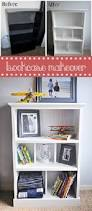 Diy Bookshelves Cheap by How To Upcycle A Cheap Old Bookcase Into A New Design Worthy