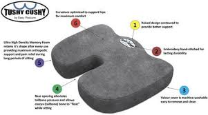 Back And Seat Cushion Top 10 Best Orthopedic Seat Cushions For Pain Travel And Home