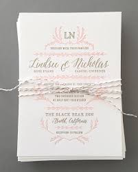 blush and gold wedding invitations blush and gold letterpress wedding invitations