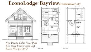 cabin layouts mackinaw city hotels amenities econo lodge bayview motel