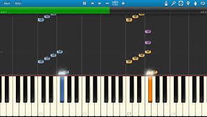 the family piano tutorial synthesia how to play