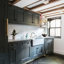 Grey Kitchen Floor Ideas Dark Herringbone Kitchen Floor Design Ideas