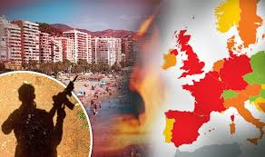 how safe is your 2016 summer map reveals most dangerous