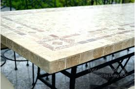 tile top patio table and chairs tile top kitchen table vahehayrapetian site