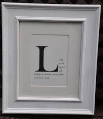 wall decor quote starting with any letter for the home