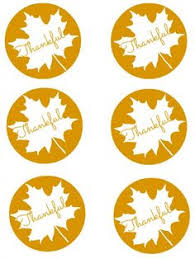 thankful for you free printable tags fall