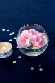 floating flowers simple decor floating flowers washi candles