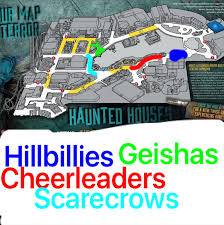 2017 halloween horror nights map hhn26 houses and scarezones ranked u2013 hhn unofficial