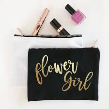 bridal party makeup bags bridal party cosmetic bags