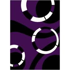 Black And Purple Area Rugs Purple And Black Rug Roselawnlutheran