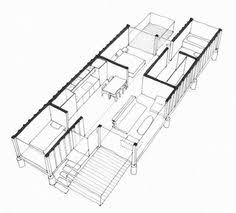 Shipping Container Floor Plan Shipping Container Home Floor Plans House Home Pinterest