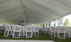 tent draping event furniture party rentals tents rental wedding decor