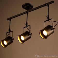 Led Ceiling Track Lights Retro Loft Vintage Led Track Light Industrial Ceiling L Bar