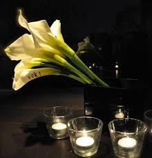 Flower Duet - pumpkin vase black and white halloween mercury glass paint