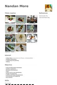 Resume Sous Chef Sous Chef Resume Samples Visualcv Resume Samples Database