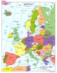 european countries on a map map of europe cities and countries travel maps and major tourist