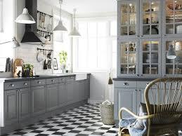 Best Ikea Kitchen Designs Ikea Kitchen Gray And White Ikea Kitchens Lidingo Gray And White