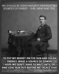 Quote Meme - political memes thomas edison solar energy quote