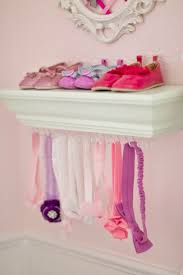 Diy Nursery Decor Pinterest by Nursery Diy Shoe Ledge Headband Holder Time To Diy Baby