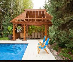 Pool Pergola Ideas by Wooden Deck Pergola For Swimming Pool Deck Pergola Wooden Decks