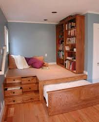 Pullout Bed Bedroom Beds With Pull Out Bed Underneath Along With Beige Wooden