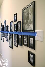 use painter u0027s tape and command picture hanging strips to create