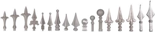 wrought iron fence finials home fence solutions