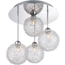 4 Light Semi Flush Ceiling Fixture by 4 Light Semi Flush Ceiling Light