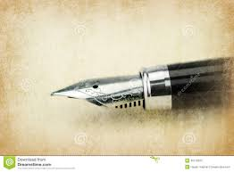 write on paper fountain pen writing on the paper stock photo image 40115505 fountain paper pen writing