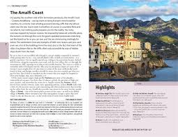 Map Of Amalfi Coast The Rough Guide To Naples And The Amalfi Coast Rough Guides