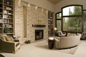 how to decorate living room with fireplace furniture stone wall living room accent fireplace failed sofa