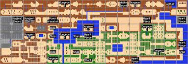 legend of zelda map with cheats overworld maps the legend of zelda walkthrough