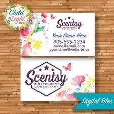 Personalized Business Cards Authorized Scentsy Vendor Business Cards Custom Business Card