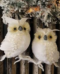 white owl ornaments rainforest islands ferry